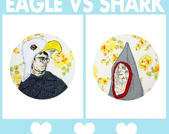Eagle Vs. Shark 2 Print Set.