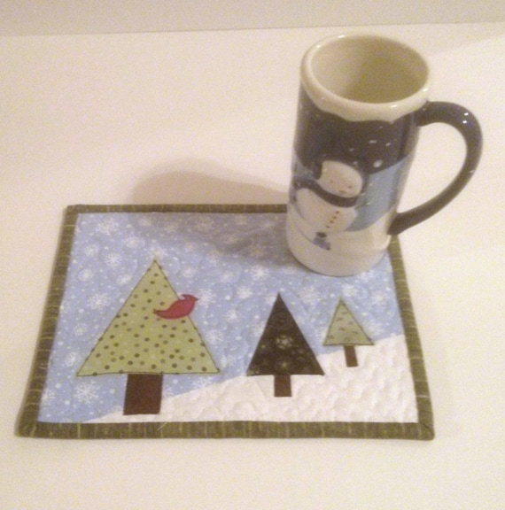 Mug Rugs Patterns Free Paper Piecing
