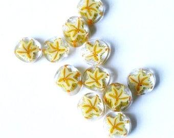 STAR FISH 104 COE Murrini murrine millefiory for making beads