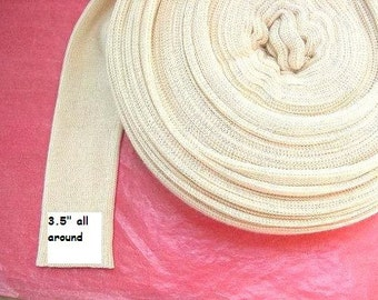 Doll's cotton tubing 1 yard  for crafting inner doll's head, suitable for Waldorf dolls-for medium heads