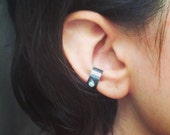Sterling Silver and Opal Ear Cuff