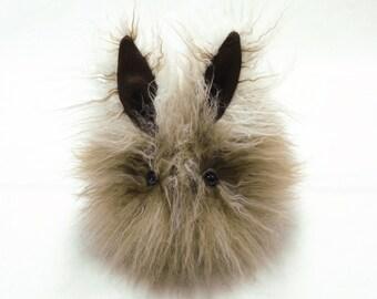 Stuffed Bunny Stuffed Animal Cute Plush Toy Bunny Kawaii Plushie Maddie the Bunny Rabbit Snuggly Cuddly Faux Fur Toy Medium 5x8 Inches