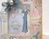Paris Fashion - Card and Envelope