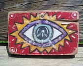 Prophet's Eye Distressed Folk Art
