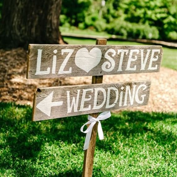Etsy Wedding Signs: Rustic Wedding Signs Rustic Wedding Sign Reception Signs