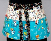 Science and Math Zipper/Key Clasp Vendor Apron