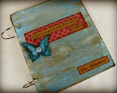 Custom Travel Journal, Smashbook, Scrapbook Album