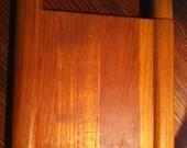 Kalmar Designs Mid-Century Danish Modern Teak Wood CHEESE SLICER with extra wire 1970s