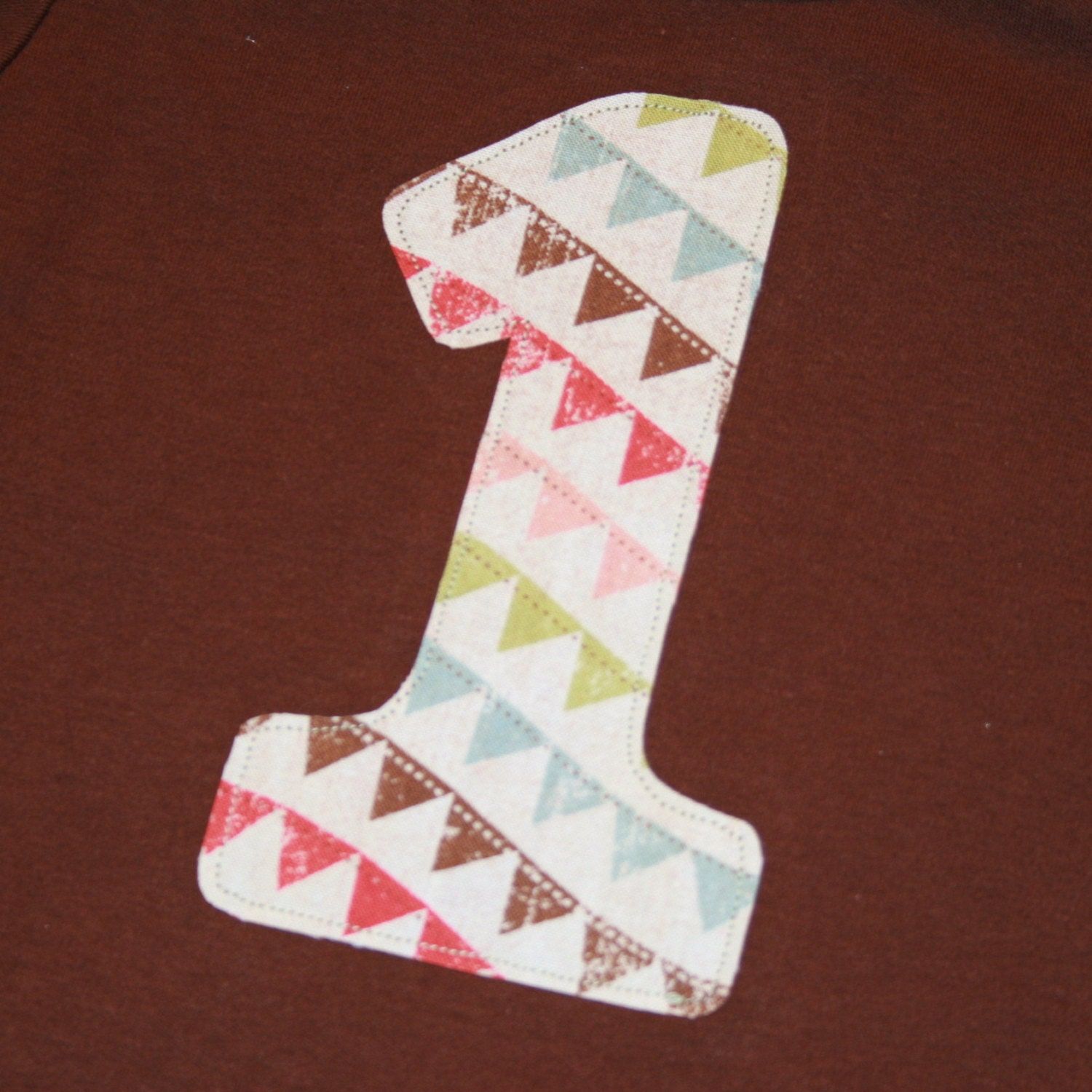 1st Birthday Shirt For Girls Number One By ThePolkaDotTotSpot