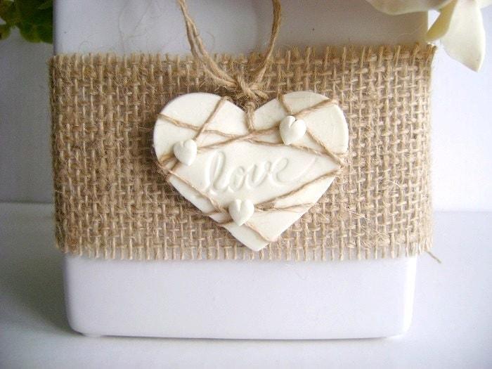 Rustic Wedding Gift Tags : Rustic Country Burlap Favor Tags Magnets Wedding Favor Tags