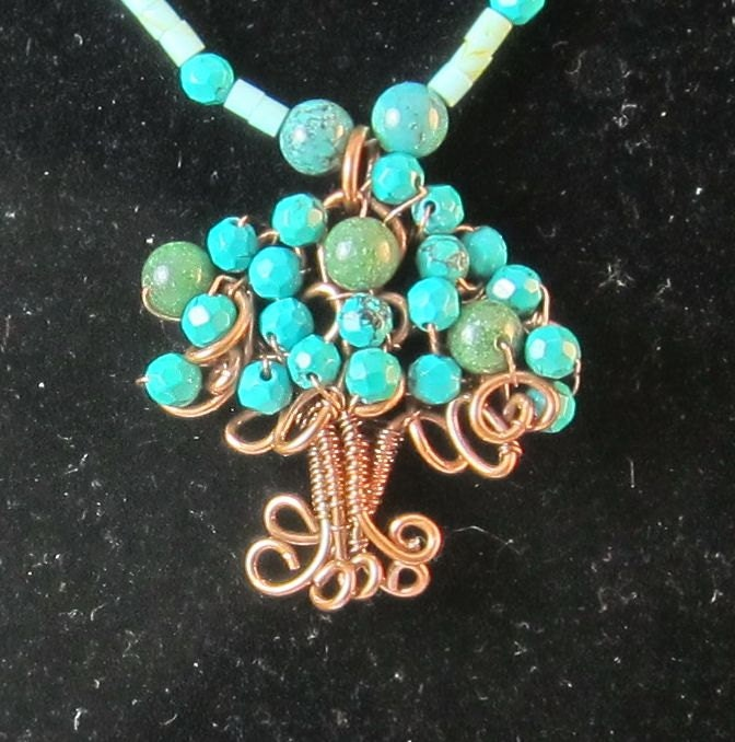 how to make a tree of life pendant tutorial