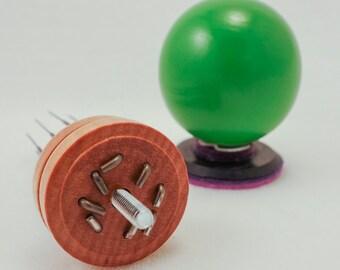 Green Bead Needle Felting Tool