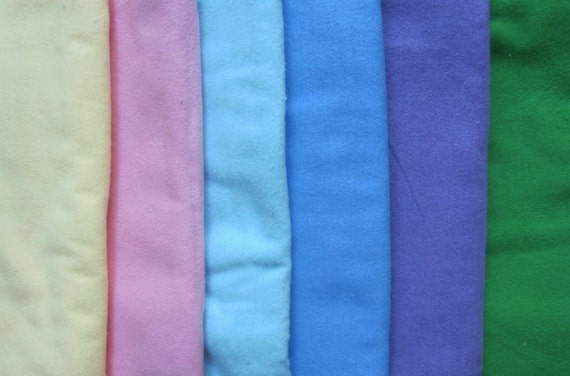 The Perfect Toddler Pillow ... FLANNEL yellow, pink, blues, purple, greens ... YOU PICK ... Original Design
