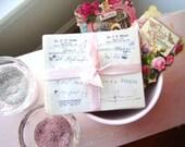 Vintage Love Potions Valentine Bundle for Home or Wedding Decor