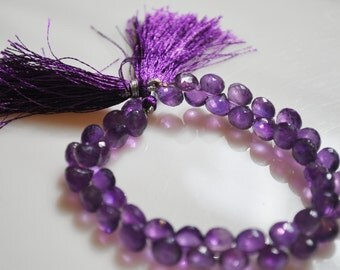 1/2 strand amethyst onions WHOLESALE PRICE 25.00