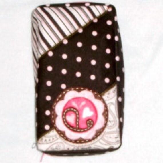 chocolate pink Diabetic meter case
