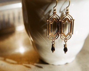 The Cathedral - Gothic romance earrings
