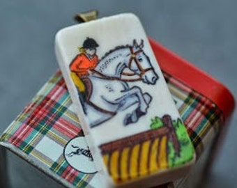 Jumping Horse Pendant