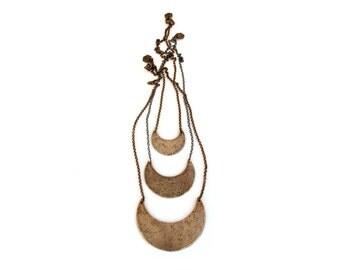 Crescent Necklace-- Medium