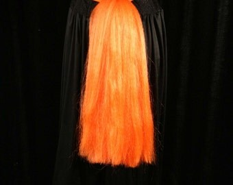 My Little Pony tail orange tuneful hair fall tie on bustle style cosplay costume halloween  -- Sisters of the Moon