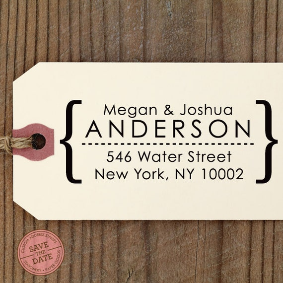 CUSTOM ADDRESS STAMP with proof from usa, Eco Friendly Self-Inking stamp, return address stamp, custom stamper, modern custom stamp 25