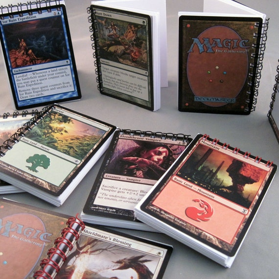 Magic the Gathering Notebook -  Life Counter