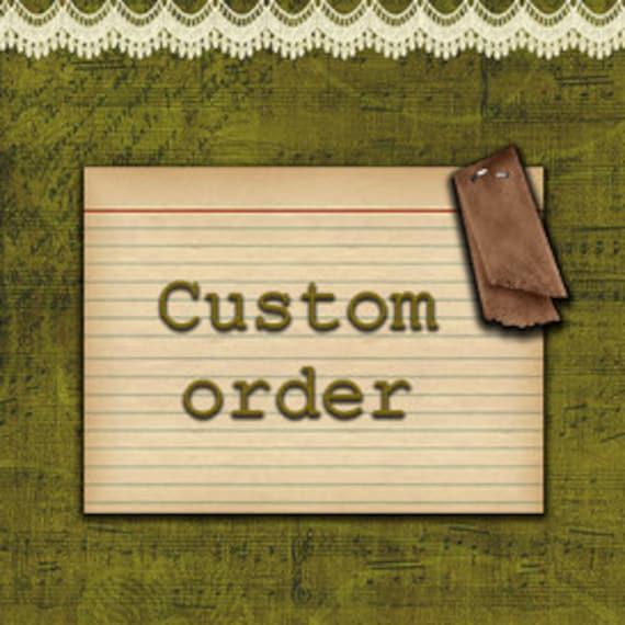 Custom Order for strawberryisland