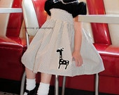 Retro 1950s  Pretty Party Dress children girls toddler