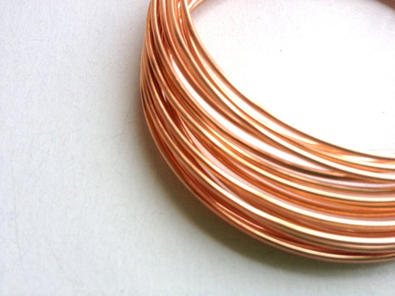 16 gauge natural copper craft wire 5 yards soft copper