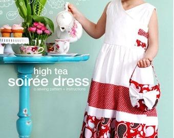 High Tea Soiree Dress Sewing Pattern