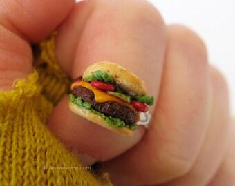 Cheesiest Cheeseburger RING