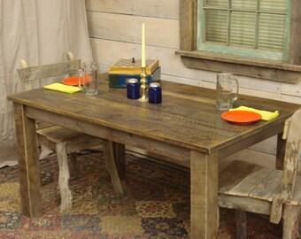 """Farmhouse Table (56"""" x 34"""" x 30""""H)"""