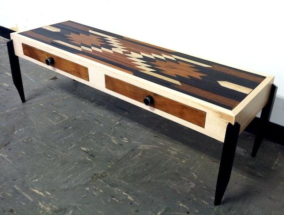 Items Similar To Bullhead Xvi Rustic Modern Coffee Table