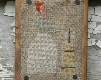Cross Stitch Paper PATTERN - FRESH BUTTER - from Notforgotten Farm