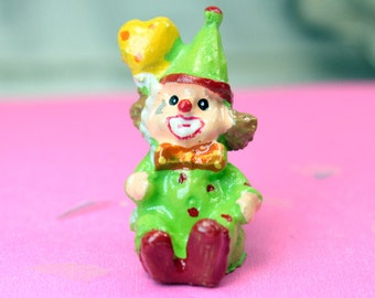 Colorful Party Clowns - Too Cute! - Set of 4 - 205-5297