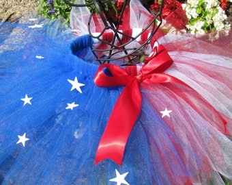 Fourth Of July Tutu/All American