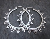 XL Tribal Hoops
