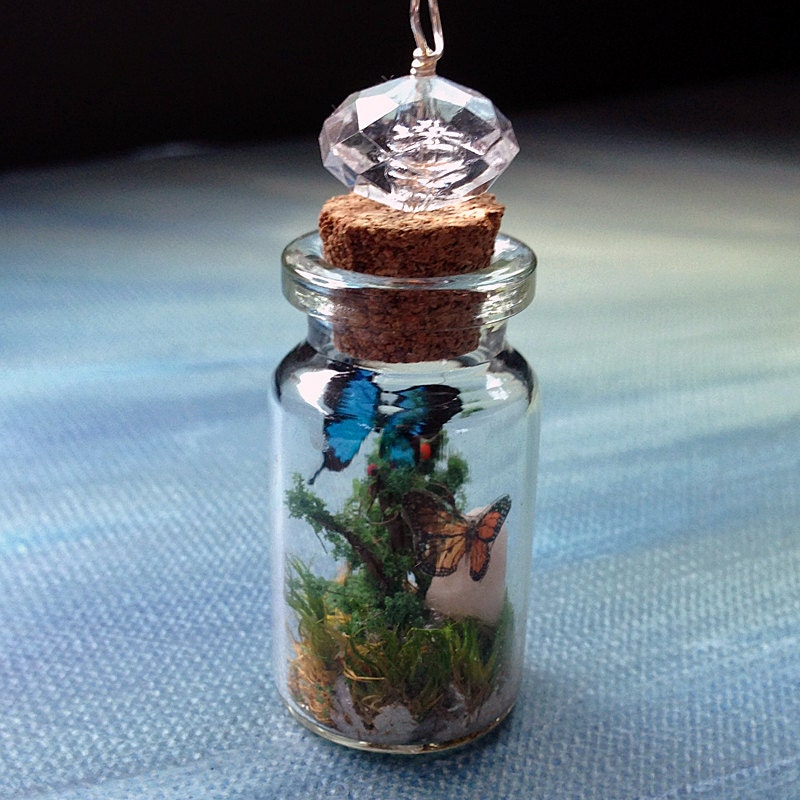 Diy Crafts With Small Glass Bottles