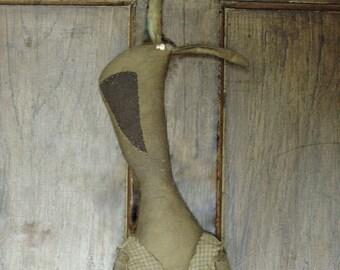 Gladys Palmer, A Primitive,Folk Art Bunny Rabbit Pattern