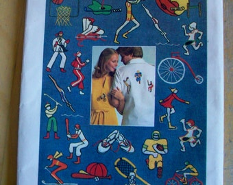 Simplicity 6958  Sports icons Embroidery design