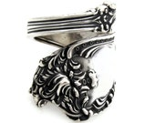 Sterling Silver Spoon Ring Size 5 To13 Wrapped Watson Altair From 1904