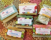 6 Homemade CP Soap Bars - Sale