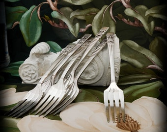 CORONATION  Salad Forks Set of 6