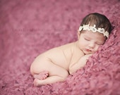 Aphrodite - White Cream Ivory Gold OR Silver - You CHOOSE - Halo Headband Crown - Pearls - Girls Newborns Baby Infant Adults