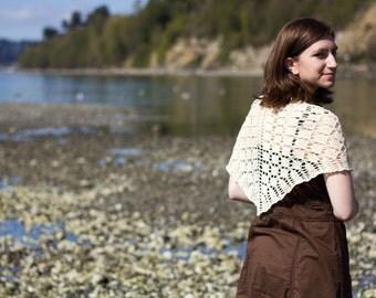 Turning Point Shawl Knitting Pattern PDF