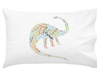 Personalized Dinosaur Pillowcase Pillow Cover Room Decor