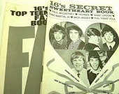 Two Vintage 1967 Sixteen Magazine Special Issues Top Teen Star Fax Book And 16's Secret Sweetheart Book
