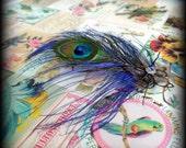 midnight jewel faerie tribal hair fascinator