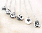 Bridesmaids necklaces. Set of 6, your choice of design Wedding jewelry