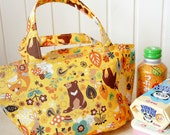 Japanese Insulated Lunch Bag - Free Shipping